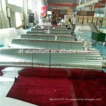 China-Herstellung Aluminium-Folienband, Aluminium-Klebebandfolie / Aluminiumfolienrolle, Aluminiumfolienverpackung