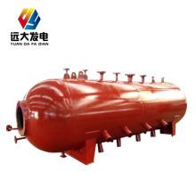 Manutenção do tambor da caldeira com placa defletora e internos