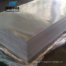 Feuille d'aluminium 7075 de 5mm d'épaisseur de qualité militaire de pré-étirage série 7000