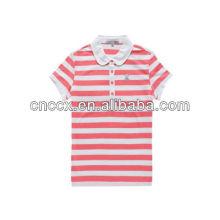 13PT1032 Poloshirt für Damen mit Streifenmuster