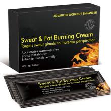 Private Custom Hot Sweat & Fat Burning Cream (10pack) Extreme Cellulite Slimming Cream