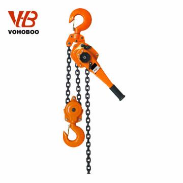 hand operated hoisting equipment manual lever hoist 250kg chain block lifter