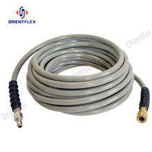 Pressure washer sewer jetter drain cleaning hose