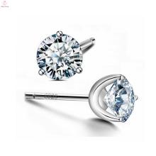 Kristall S925 Sterling Silber Zirkonia Cz Ohrstecker