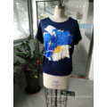 Summer Latest Fashion Loose Cotton Women T-Shirt Clothes