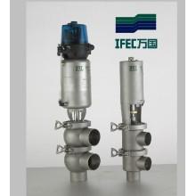 Vanne d'inversion sanitaire en acier inoxydable (IFEC-PR100001)