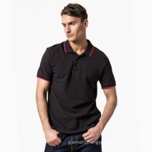 100% Cotton Pique OEM T-Shirts Customized Polo T-Shirt