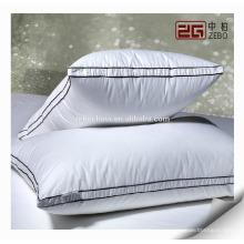 Роскошная дизайнерская фабрика Непосредственно изготовленные оптовые пуховые подушки из белого гусиного пуха