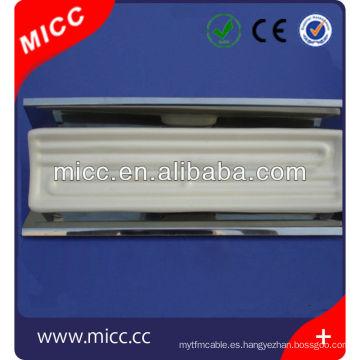 Calentador de cerámica industrial del IR de 245 * 60m m con el reflector