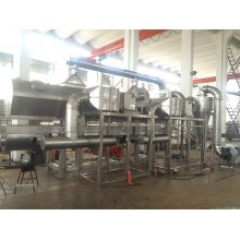 Rectilinear Vibrating-Fluidized Dryer Used in Monosodium