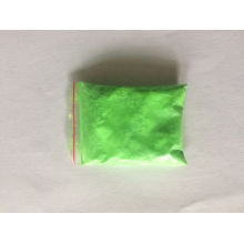 Photoluminescent Pigment Powder with Green Color