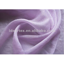Polyamide Polyester Dobby Georgette Fabric for Lady Dress