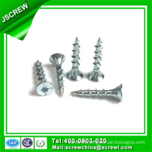 Double Countersunk Head Iron Wood Screws