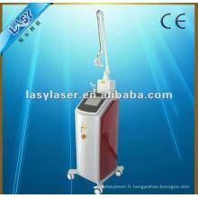 CE approuvé médicale fractionnelle co2 laser beauté machine pour le soin de la peau