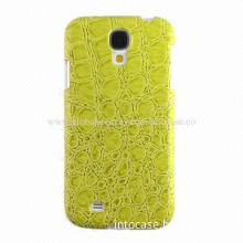 Leather and TPU 3D Figure Case for Galaxy S4, Adapt Twice Molding Process