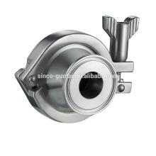 Clapet anti-retour en acier inoxydable 304 316L