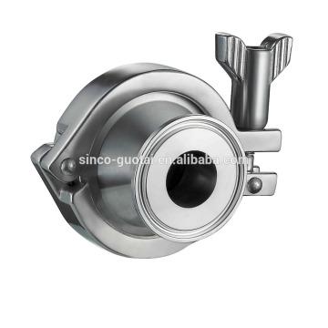 304 316L válvula de no retorno de acero inoxidable