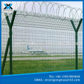 Powder Coated Security Welded Airport Fence