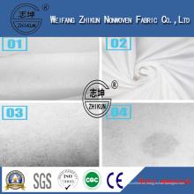 Tela no tejida hidrofílica de alta calidad para las servilletas sanitarias y el pañal de la fábrica