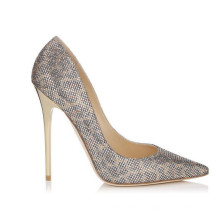 Pop Classical Design Fashion High Heeled Ladies Shoes (Y 99)