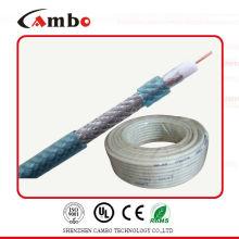 RG 6 copper clad aluminum close-circuit TV system cable