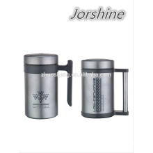 New design 500ML fashion vacuum flask with thermometer