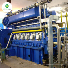 Pyrolysis oil from Waste Plastic to Power Plant /Pastic Oil Generator