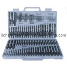 115PCS HSS Spiralbohrer-Set mit Kunststoffpaket