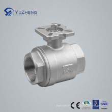 Stainless Steel Ball Valve Without Lever Handle