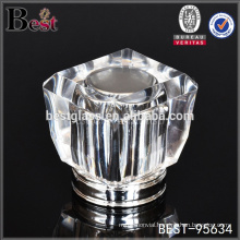 fancy square crystal perfume bottle cap, perfume bottle cap surlyn cap