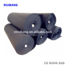 tela de fibra de carbono eléctricamente conductiva
