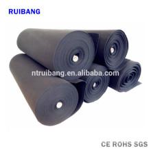tissu de fibre de carbone électriquement conducteur