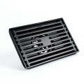 Black Hotel Bathroom Stainless Steel floor Drain