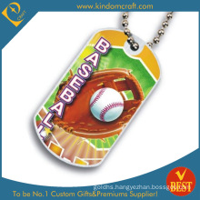 Custom Metal Aluminum Baseball Printing Dog Tag