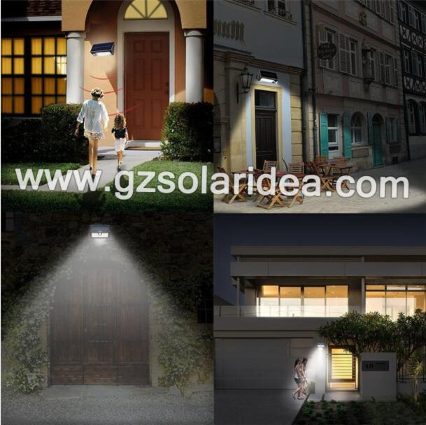 3.5W LED Motion Sensor Night Light for Outdoor
