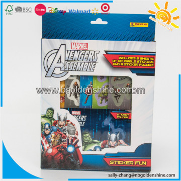 The Avengers Sticker Set Box