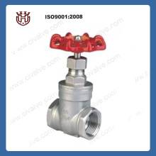 SS 304 screw gate valve DN20-DN100