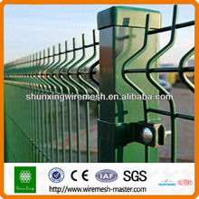 PVC-coated Welded Wire Mesh Fence