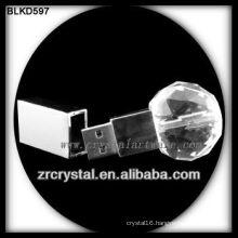 ball shape crystal USB flash disk BLKD597
