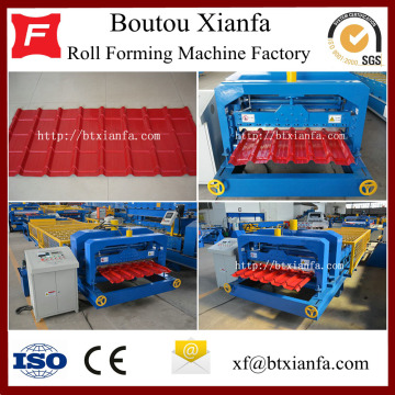 Xianfa Roof Deck Iron Sheet Making Machine