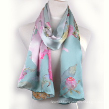 Digital Printed Silk Shawl (13-BR110303-7)