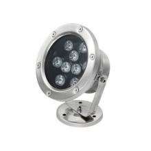 Piscina RGB utiliza luz subacuática LED de 9W