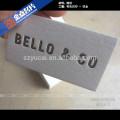 Varnishing letterpress paper best visiting card