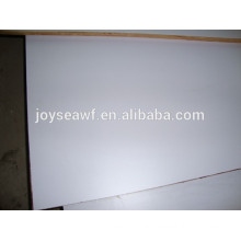 White HPL fireproof plywood and melamine plywood
