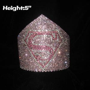 Custom Crystal Superman Pageant Crowns