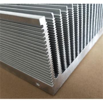 Soldadura de aluminio del disipador de calor