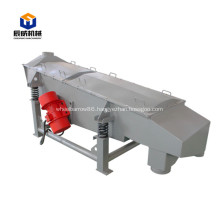 Linear carbon steel high capacity vibrating screen