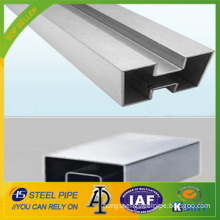 Stainless Steel Double and Single Slot Pipe/Tube