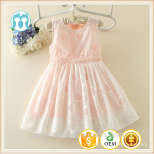 summer children clothing 3 year old girl dress cotton simple design girls frock
