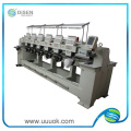 6 head embroidery machine logo for cap t-shirt and leters